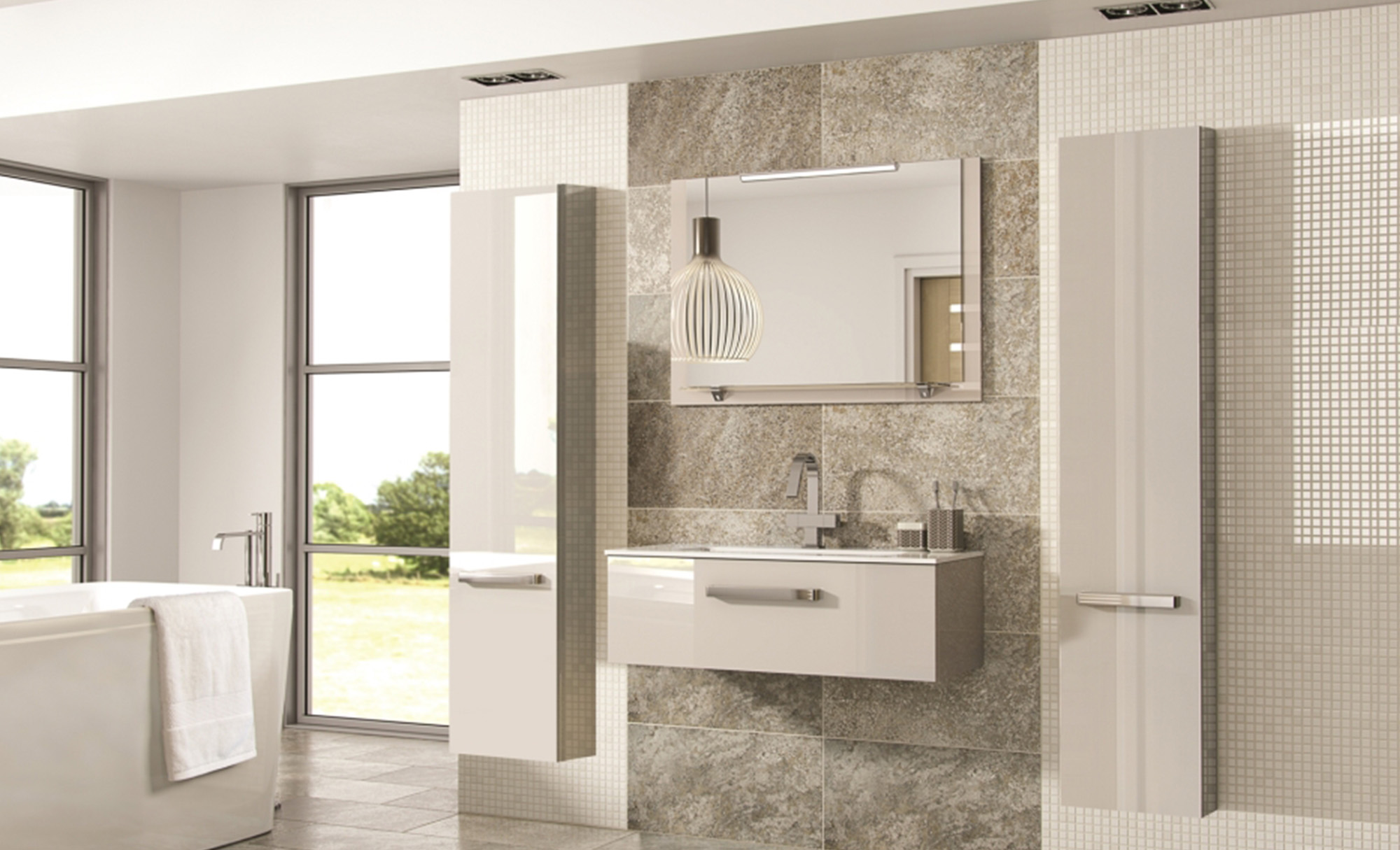 Eco Bathrooms Gloss Kashmir