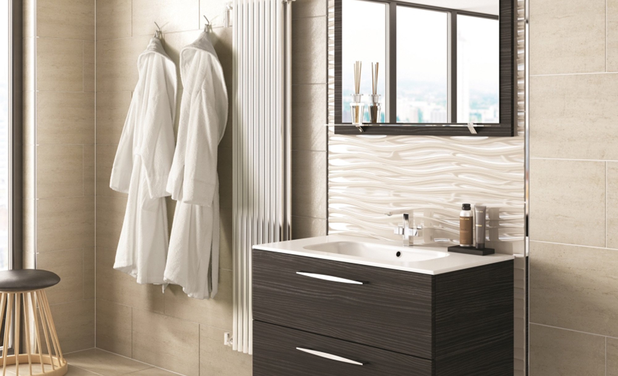 Eco Bathrooms Urban Hacienda Black