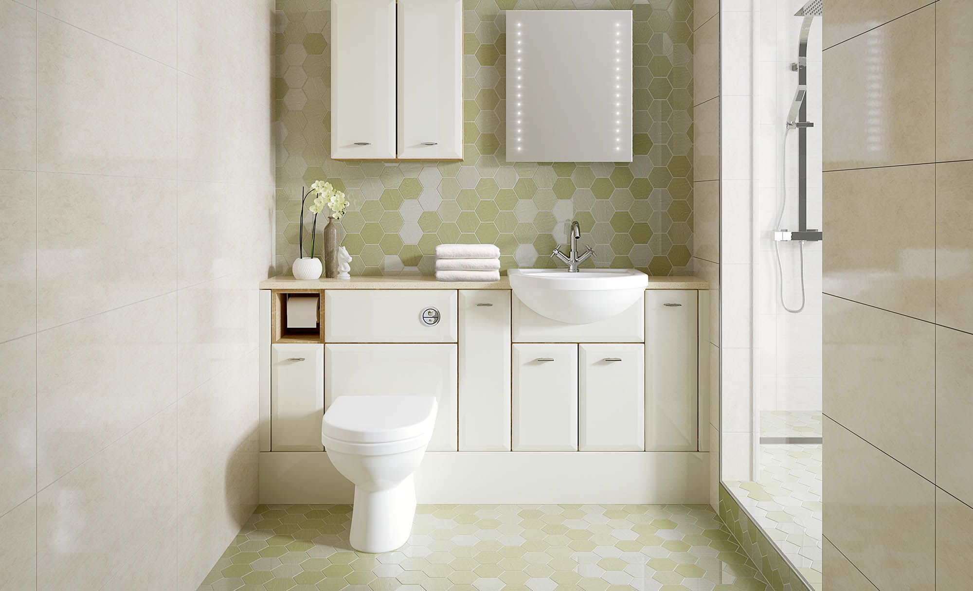 Gaddesby Bathrooms Slab Saponetta