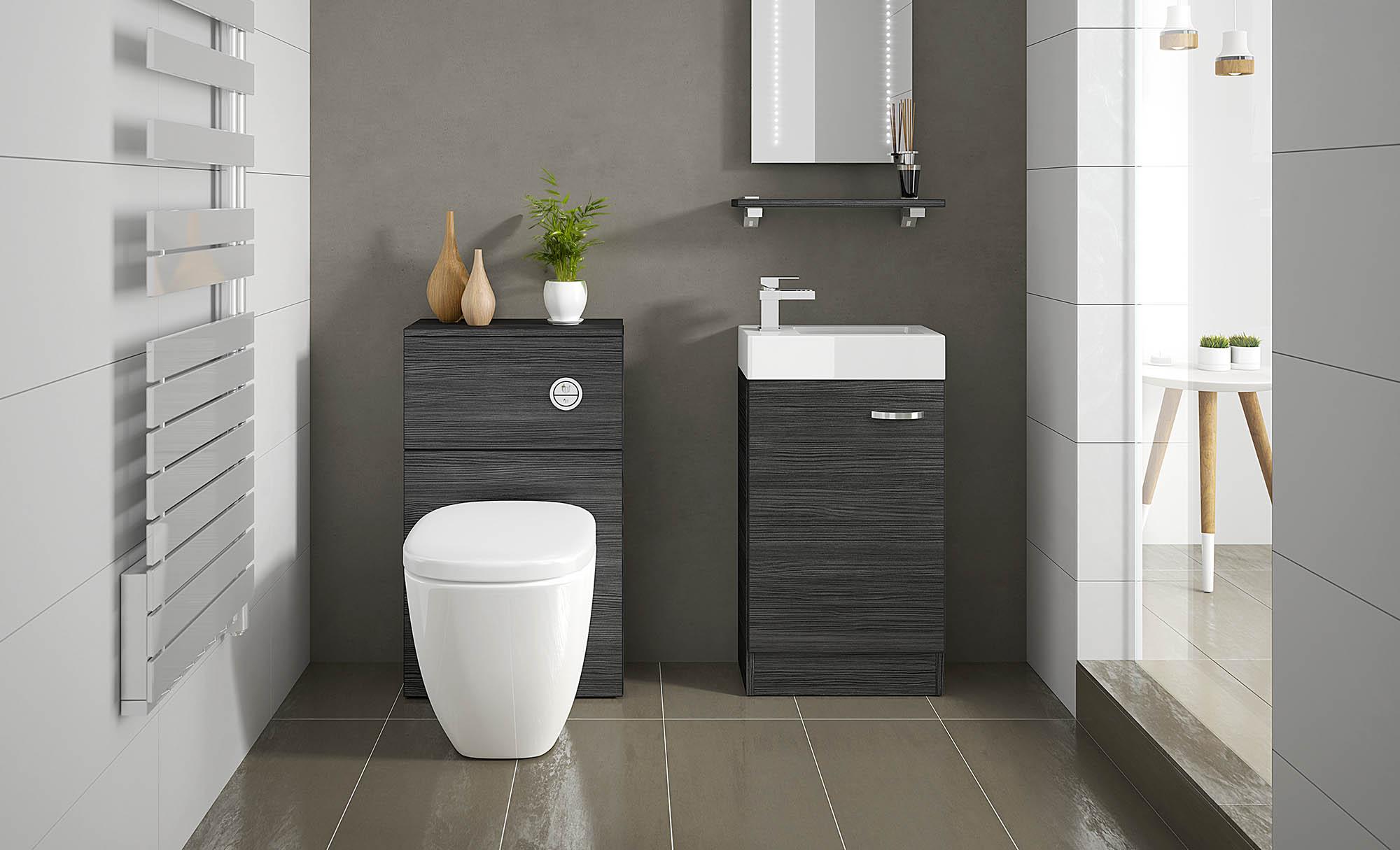 Greyhouse Bathrooms Compact