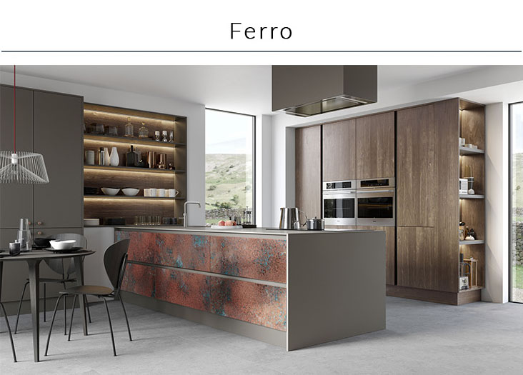 Sdavies kitchen stori Ferro collection