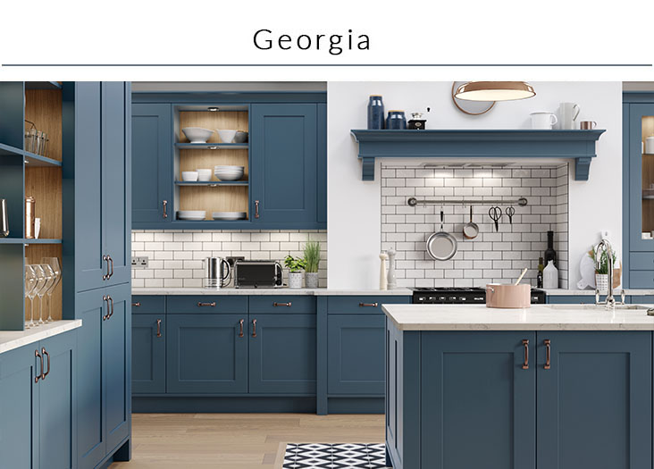 Sdavies kitchen stori Georgia collection