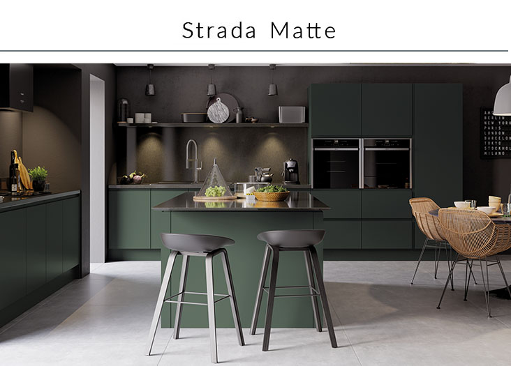 Sdavies kitchen stori strada matte collection